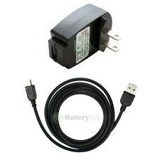 Travel Wall AC Charger+USB Cable for Sandisk Sansa Clip e130 e140 m240 m250 m260