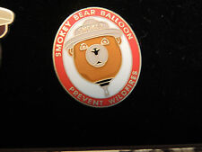 Pin Smokey Bear Balloon Bär Teddy  USA  Neu