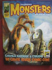 Famous Monsters 281 STICKERED San Diego Comic Con exclusive cover OUT OF PRINT