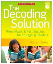 Decoding Solution: Rime Magic & Fast Success for Struggling Readers NEW DVD K-12