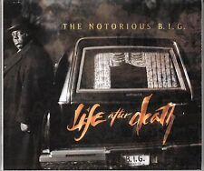 """COFFRET 2 X CD  ALBUM THE NOTORIOUS B.I.G  """"LIFE AFTER DEATH"""""""