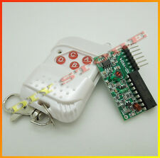 5V DC 4 Key Wireless Remote Control Switch Transmitter and Receiver Module Board