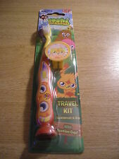 MOSHI MONSTERS CHILDRENS TOOTHBRUSH + COVER - BRAND NEW