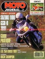 MOTO JOURNAL  964 SUZUKI GSX-R 1100 RM KTM MX YAMAHA FZR 1000 YZ 250 HONDA CR 90