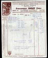 """SUCY-EN-BRIE (94) ARTICLES en cuir LA SELLERIE FRANCAISE """"FARGES Freres"""" en 1959"""