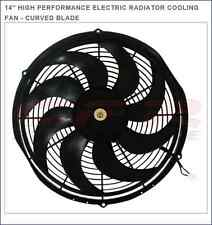 """14"""" HIGH PERFORMANCE ELECTRIC RADIATOR COOLING FAN - CURVED BLADE CFR Efficient"""