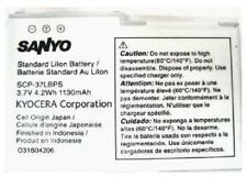 NEW OEM SANYO KYOCERA M6000 Zio SCP-8600 SCP-37LBPS SCP-36LBPS BATTERY