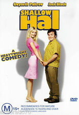 SHALLOW HAL DVD R4   Jack Black  / Gwyneth Paltrow