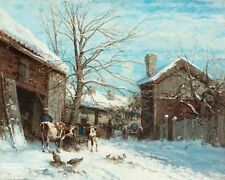 Victor Forssell  City Boundary Winter  - 24'  CANVAS