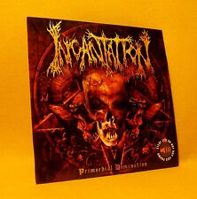 PROMO Cardsleeve Full CD Incantation Primordial Domination 9TR 2006 Death Metal