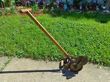 Antique Henley Lawn Mower Co. Richmond Indiana Lawn Edger Trimmer Working Cond.