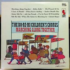 DO RE MI CHILDREN'S CHORUS marching along together LP VG+ Milton Glaser Art RARE