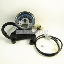 LCD Digital Motorcycle Scooter Speedometer Gauge Odometer w/ USB Port FFD-45