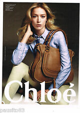 PUBLICITE ADVERTISING 065  2010  CHLOE   collection sacs