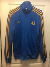 Adidas TIGRES UANL Mexico Track jersey top Soccer Sweat Shirt Jacket Men Large