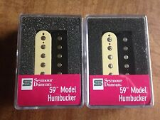 Seymour Duncan 59 Model Humbucker Pickup Set Zebra NEW SH-1n and SH-1b