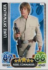 Star Wars Force Attax : Force Awakens Set 1 #1 Luke Skywalker
