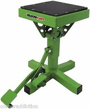 Motorsport Products P-12 Adjustable Lift Stand GREEN Motorcycle Dirtbike 92-4015