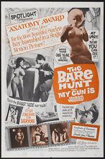 THE BARE HUNT Movie POSTER 27x40 Paulette Kire Man Watson Marilyn Savage Jimmy