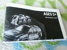 TRANSFORMERS DARK MOON CRANKCASE INSTRUCTION BOOKLET