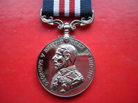 Quality Die Struck WW1 British Military Medal MM Full Size Replacement Copy