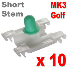 GOLF MK3 DOOR TRIM CLIPS BUMPSTRIP STRIP MOULDING VW VOLKSWAGEN SHORT STEM