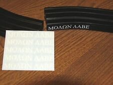 MOLON LABE decal, Sticker, magazine pack of 5 vinyl decals. ar15