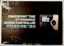 New Biometric Fingerprint Attendance Time Clock + ID Card Reader + TCP/IP + USB
