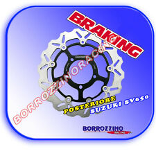 DISCO FRENO POSTERIORE MARGHERITA BRAKING SUZUKI SV 650 RACING SPORT