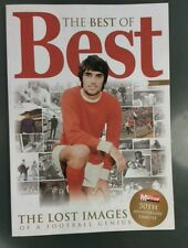 George best book, the best of best Manchester utd mufc man united football club.