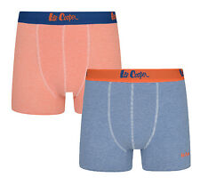 Lee Cooper Two Pack Boxer Shorts Men's Underwear Cotton Stretchy Sporty Trunks