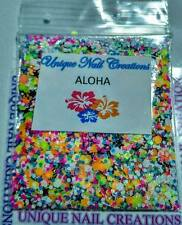 Limited Edition Glitter Mix~ALOHA* Comes With Alloy~ Nail Art