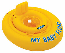 Intex My Baby Float - Swimming Aid Infant Pool Trainer Inflatable Ring Chair UK