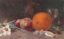 MAJOR-GENERAL SIR GEORGE CHARLES D'AGUILAR Painting STILL LIFE FRUIT c1840