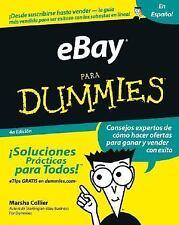EBay para Dummies by Marsha Collier (2004, Paperback)