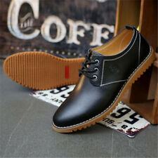 Men's Oxfords Leather shoes Business Dress Formal Casual Shoes British Style