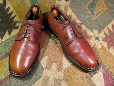 vtg HANOVER LB SHEPPARD SIGNATURES MENS PLAIN TOE SHOES SZ 8 .5E/C MADE IN USA