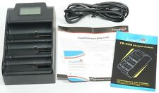 TR-008 CARICABATTERIA TRUSTFIRE 32650 26650 18650 charger LI-ION Power bank LED