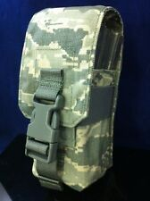 NEW USGI FIREFORCE 3 MAGAZINE POUCH ACU CAMO DIGITAL AR ELASTIC MOLLE Three mag