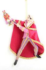 Nutcracker Ballet Suite Herr Drosselmeier in Velour 6 inch Christmas Ornament