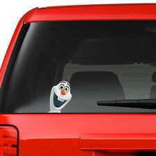 Frozen Olaf on Board Funny Joke Novelty Car Bumper Window Sticker Decal Colour
