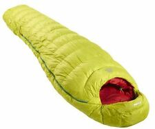 Mountain Equipment Xero 300 Down Sleeping Bag Reg - Green Shoots - LEFT HAND