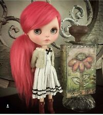 Ooak Custom Genuine Takara Blythe Doll EBL