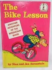 THE BIKE LESSON Stan and Jan Berenstain Bears 1964 hardcover Vintage Book