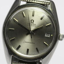 Vintage OMEGA Seamaster Cal.565 Quick Set Date Automatic Mens Wrist Watch_313362