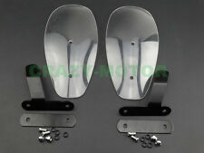 Clear Wind Hand Guards Protector Windshield For Honda Shadow Motorcycle Custom