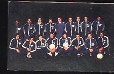 HJK HELSINKI 70s Vintage Postcard Finnish Football Team
