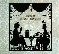 An Evening with Neil Gaiman & Amanda Palmer (CD, Nov-2013, 3 Discs) FREE SHIP!