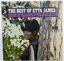 ETTA JAMES The best of LP United SEALED Funk Soul