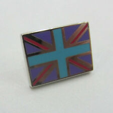 Paul Smith Union Jack Pin Badge Purple With Blue Cross RRP £35